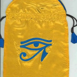 OMEN Horus Eye Satin Bag (Tarot Bag)