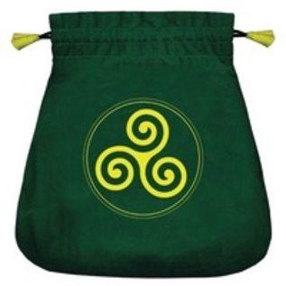OMEN Celtic Triskel Velvet Bag