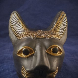 OMEN Cat Bast Head, Black Finish