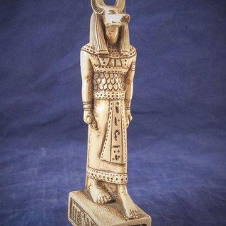 OMEN Medium Anubis Statue, White Finish