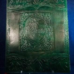OMEN Large Raven Journal in Green