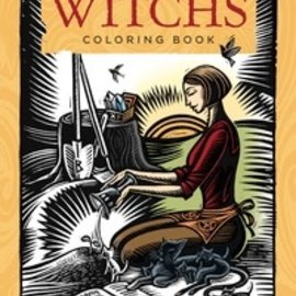 OMEN Llewellyn's Witch's Coloring Book