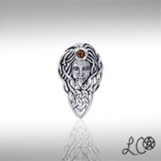 OMEN Laurie Cabot's Queen Maeve Pendant with Garnet