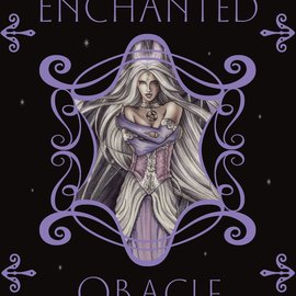 OMEN Enchanted Oracle [With Tarot Deck and Fairy Pendant and Silver Bag]