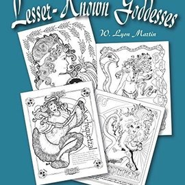OMEN The ABCs of Lesser - Known Goddesses: An Art Nouveau Coloring Book for Kids of all Ages