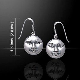 OMEN Moonface Earrings