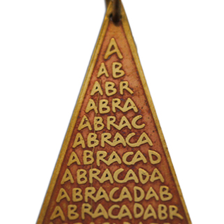 OMEN Abraca Triangle Charm Pendant for Unexpected Good Fortune