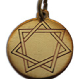OMEN Heptagram, Mystic Star Charm Pendant for Harmony in Love & Friendship