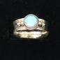 OMEN Faceted Labradorite Ring