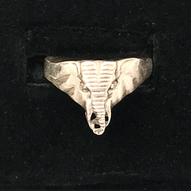 OMEN Sterling Elephant Ring