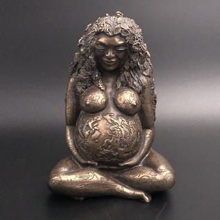 OMEN Millennial Gaia Cold Cast Bronze Statue by Oberon Zell