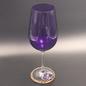OMEN Purple Chalice with Flourite on Base