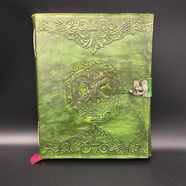OMEN Large Celtic Tree Journal in Green