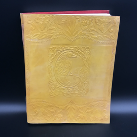 OMEN Large Raven Journal in Yellow