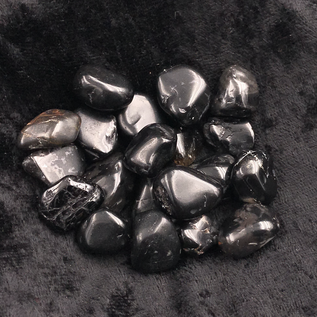 OMEN Tumbled Black Onyx