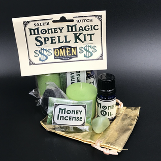 OMEN Salem Witch Money Magic Spell Kit