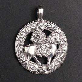 OMEN Epona Pendant in Sterling Silver