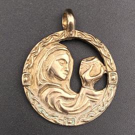 OMEN Cerridwen Pendant in Bronze