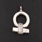 OMEN Shen Ring Pendant in Sterling Silver