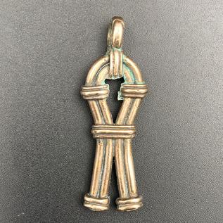 OMEN Sa Sign Pendant in Bronze