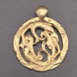 OMEN Mermaid Lovers Pendant in Bronze