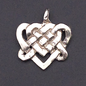 OMEN Celtic Lovers Knotwork pendant in Sterling Silver