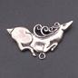 OMEN Scythian Stag Pendant in Sterling Silver