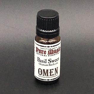OMEN Basil Sweet (Ocimum Basilicum) - 10ml