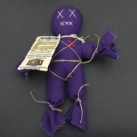 OMEN Bridget Bishop's Purple Salem Poppet