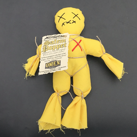OMEN Bridget Bishop's Yellow Salem Poppet