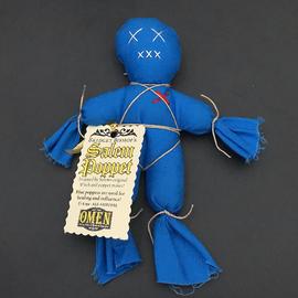 OMEN Bridget Bishop's Blue Salem Poppet
