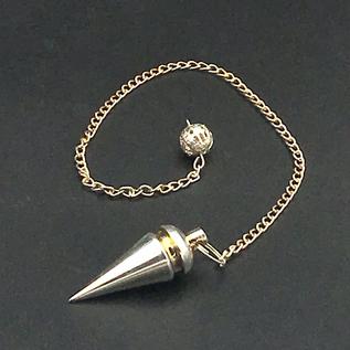 OMEN Silver Metal Cone Pendulum