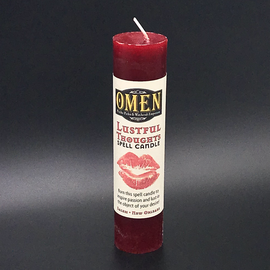 OMEN Lustful Thoughts Pillar Candle