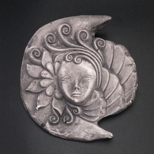 OMEN Crescent Moon Nymph Wall Hanging