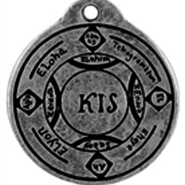 OMEN Circle of Solomon Talisman Pendant