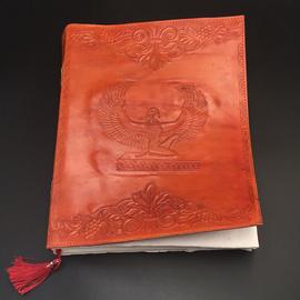 OMEN Large Isis Journal in Orange