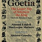 OMEN Goetia the Lesser Key of Solomon the King: Lemegeton, Book 1 Clavicula Salomonis Regis (Revised)