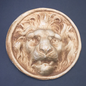 OMEN Lion Head Medallion Wall Hanging