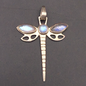 OMEN Sterling Silver Dragonfly with Moonstone