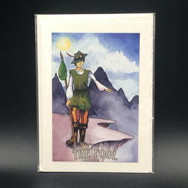 OMEN The Fool - Tarot Greeting Card
