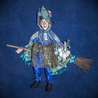 OMEN Abigail Flying Witch in a Blue Dress