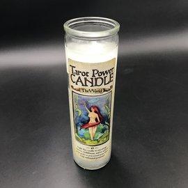 OMEN Tarot Power Candle - The World