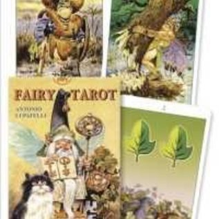 OMEN Fairy Tarot Deck [With 16 Page Fold-Out Instruction Sheet] (Lo Scarabeo Decks)