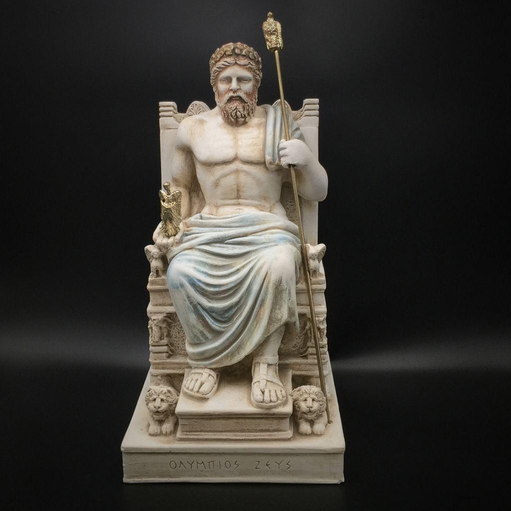 Pictures of greek god zeus