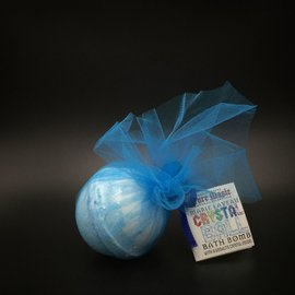 OMEN Pure Magic Marie Laveau Crystal Ball Bath Bomb with a Sodalite Crystal Inside!