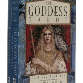 OMEN Goddess Deck & Tarot Book Set [With Book]