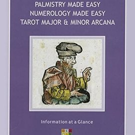 OMEN Palmistry Made Easy Guide, Numerology Made Easy, Tarot Major & Minor Arcana: A Three-In-One Guide