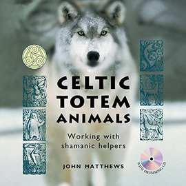 OMEN Celtic Totem Animals: Working With Shamanic Helpers (20 Totem Cards, Shamanic Drumming Cd & 192-Page Book)