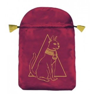 OMEN Egyptian Cat Satin Bag