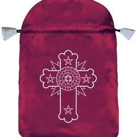 OMEN Rosicrucian Satin Bag